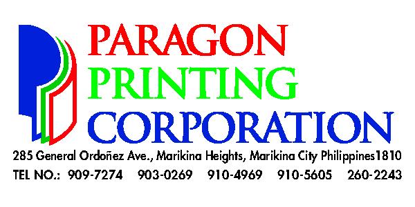 PARAGON PRINTING CORPORATION